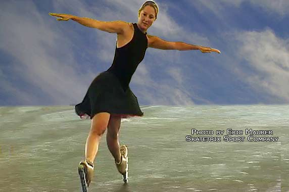 NATHALIE BIEDERMANN, swiss champion roller and synchronized skating