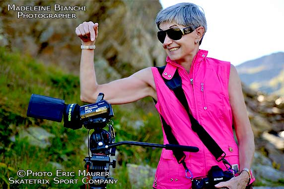 MADELEINE BIANCHI, sport and action photographer