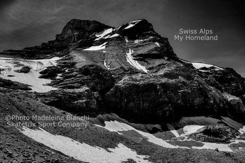 MADELEINE BIANCHI - I present you my homeland! - The Swiss Alps!