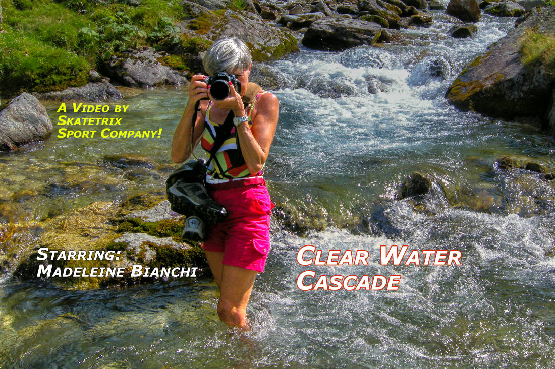 CLEAR WATER CASCADE | Swiss Alps video clip
